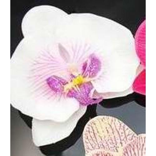 Orchidėjos-segtukai į plaukus (įvairių spalvų)