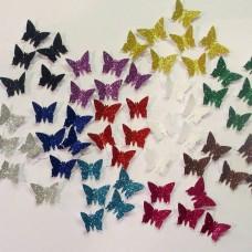 Popieriniai drugeliai, konfeti