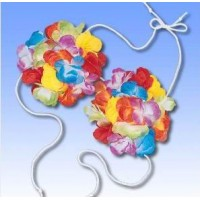 Havajietiška gėlių liemenėlė