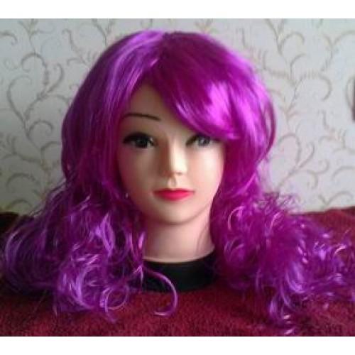 Violetinis perukas (ryškus)