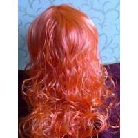 Oranžinis perukas
