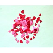 Popierinės širdelės, konfeti