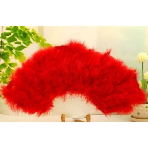 Flamenko vėduoklė (raudona)